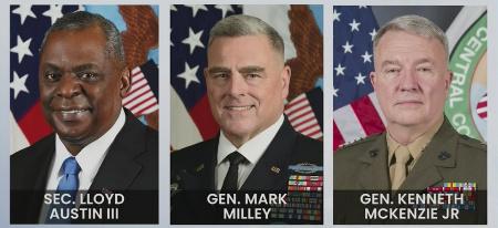 Generals Milley, Mckenzie, and Sec Austin Testify Before Congress
